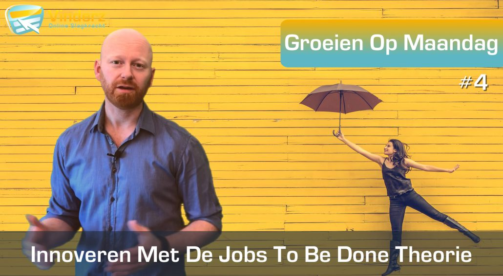 Jobs To Be Done innoveren